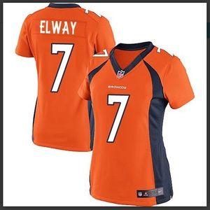 Women's Nike John Elway Broncos Football Jersey